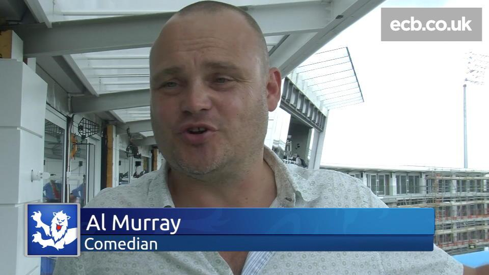 Al Murray on why he loves cricket