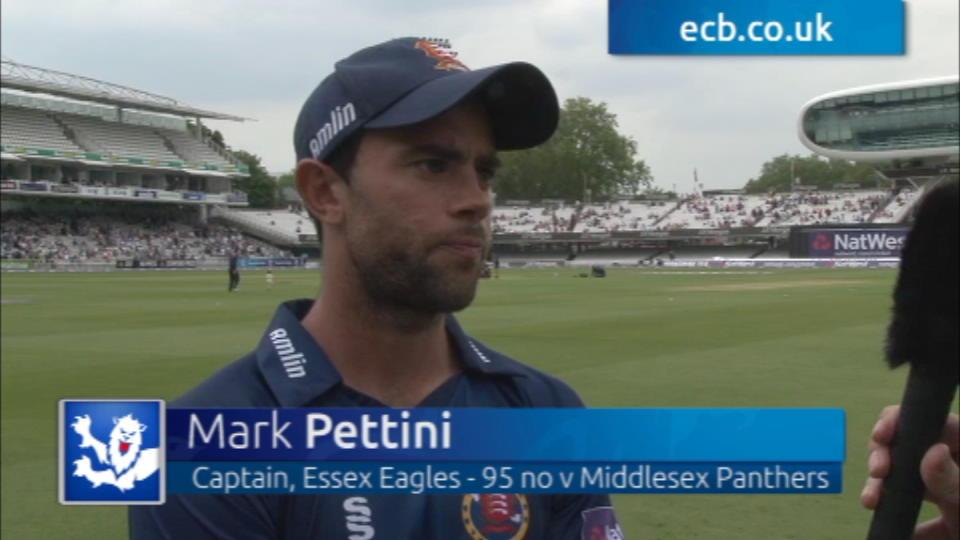 Pettini thrilled with Lord's win