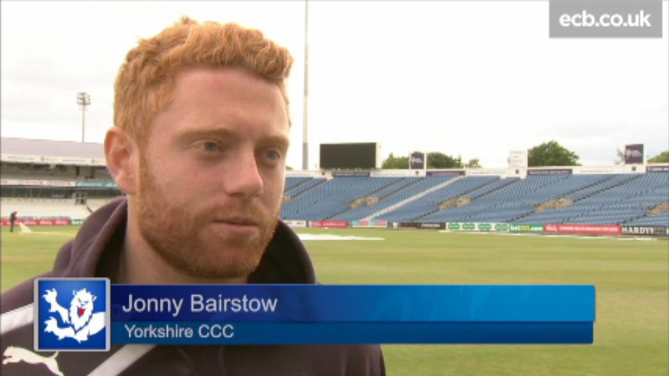 That was for someone special - Bairstow