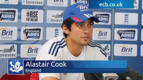 Cook hungry for runs