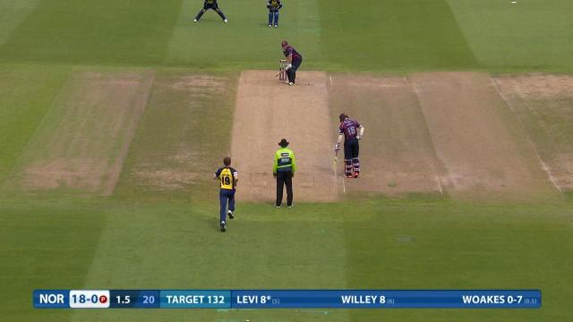 Northamptonshire v Birmingham - Natwest T20 Blast, Northamptonshire Innings