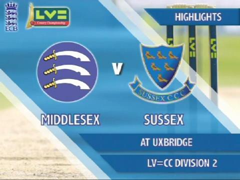 23 July - Middlesex v Sussex - Day 3