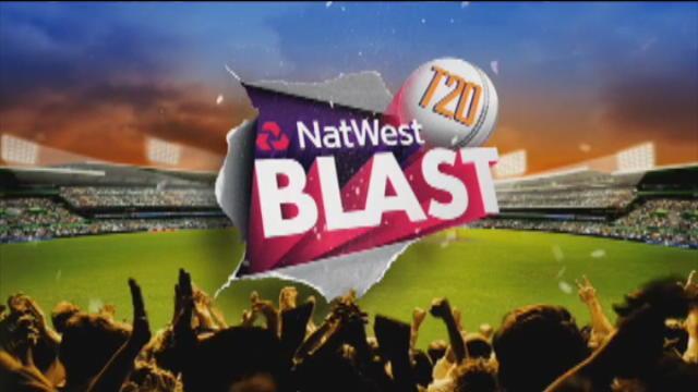Birmingham Bears v Northants Steelbacks, NatWest T20 Blast, Birmingham Innings