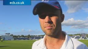 Trott frustrated with performance
