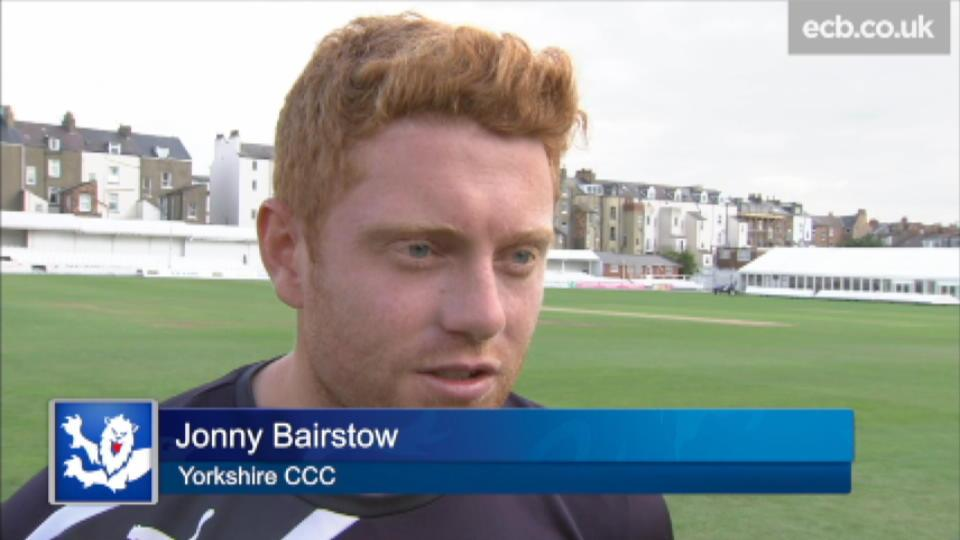 Very exciting - Bairstow