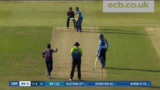 Northamptonshire v Derbyshire - Natwest T20 Blast, Derbyshire Innings