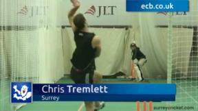 Tremlett bowling again