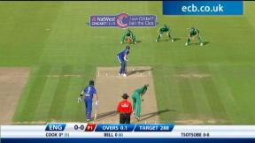 2nd NatWest Series ODI - England innings