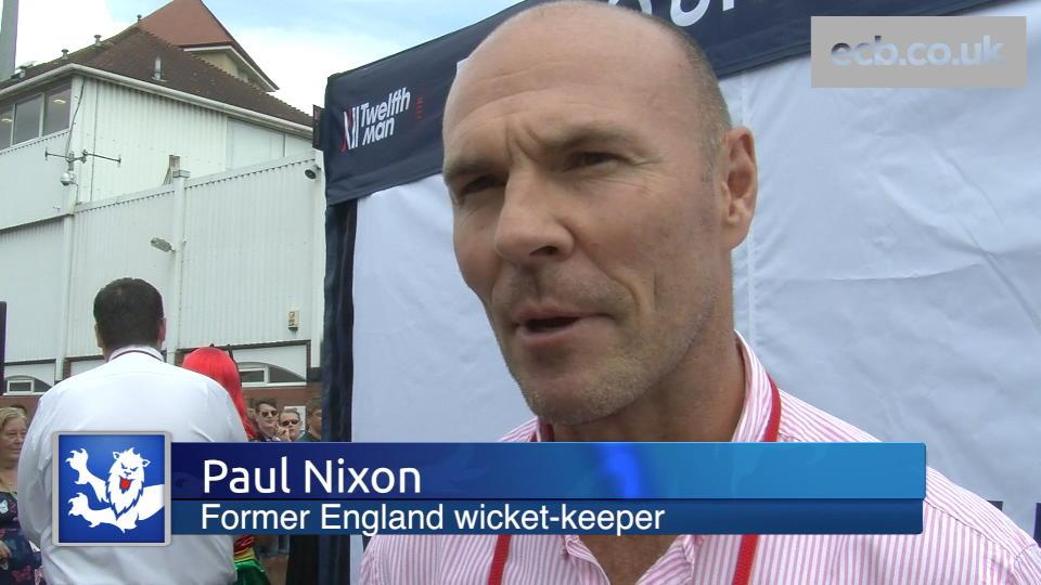 Paul Nixon re-lives his favourite England memories
