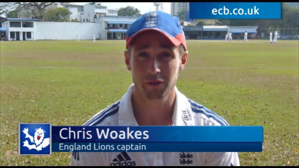 Woakes says Lions are ready