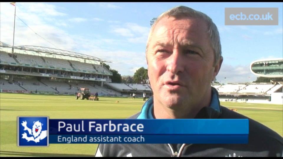 Farbrace praises bowlers