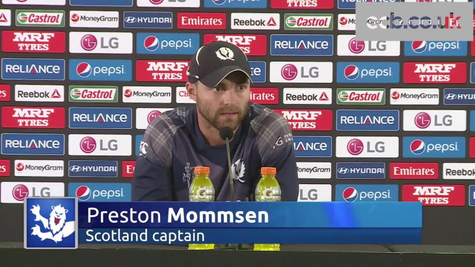 Scotland captain Preston Mommsen 'disappointed' with defeat to England