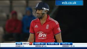5th NatWest Series ODI - England Innings