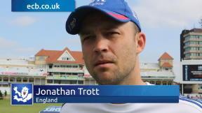Trott praises England response