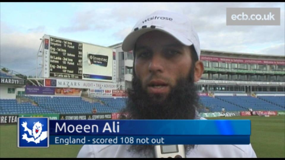 I'm gutted for Jimmy and the lads - Moeen