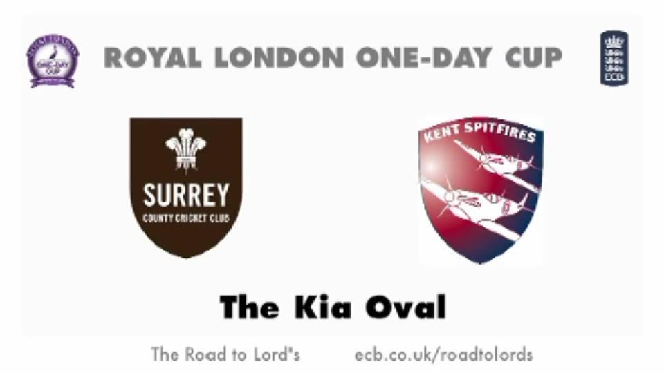 Surrey v Kent Spitfires