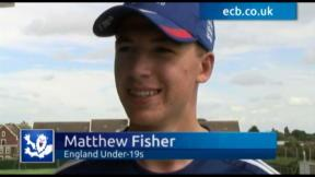 Teen star Fisher taking it in his stride