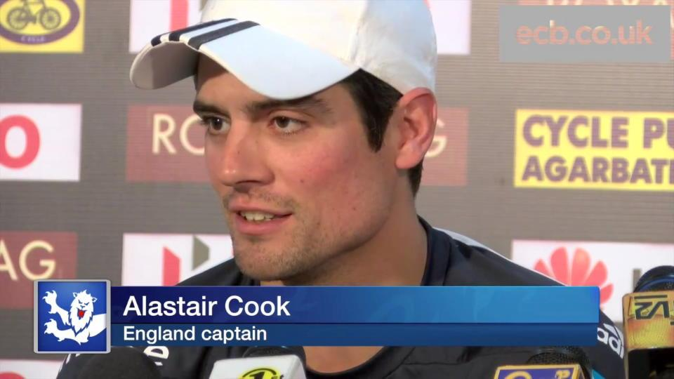 Cook pays tribute to Hughes