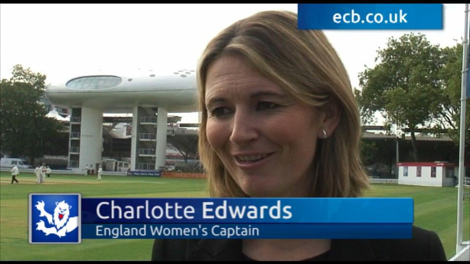 Volunteers - Charlotte Edwards