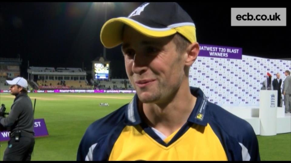 Woakes savours special moment