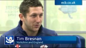 Bresnan targets England return