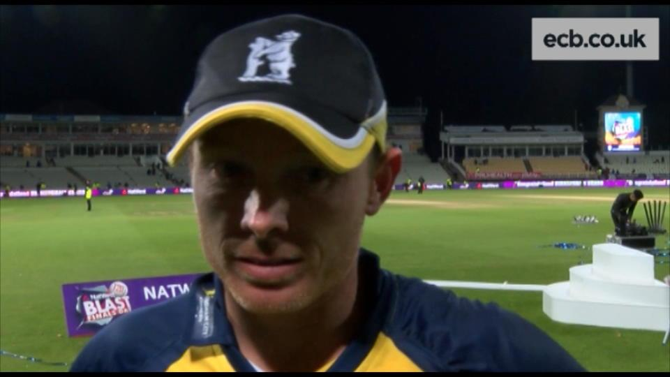 NatWest T20 Blast win is 'special' - Bell