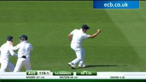 England v Australia - 5th Investec Ashes Test highlights, Day 1 PM