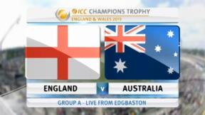 England v Australia - ICC Champions Trophy - highlights