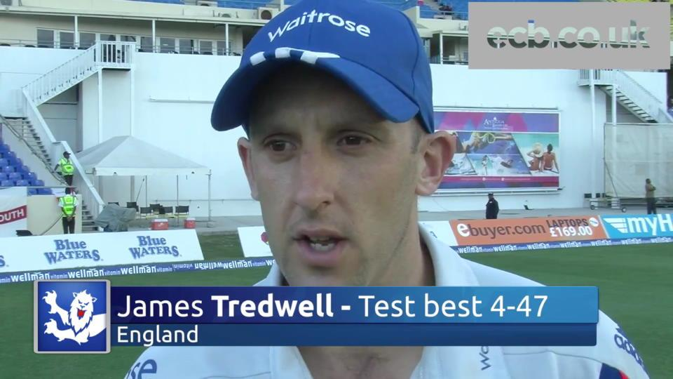 Tredwell tells England to build on lead