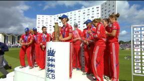 England Women v Australia Women - 3rd T20 highlights