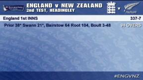 England v New Zealand - 2nd Test Highlights, Day 3 AM