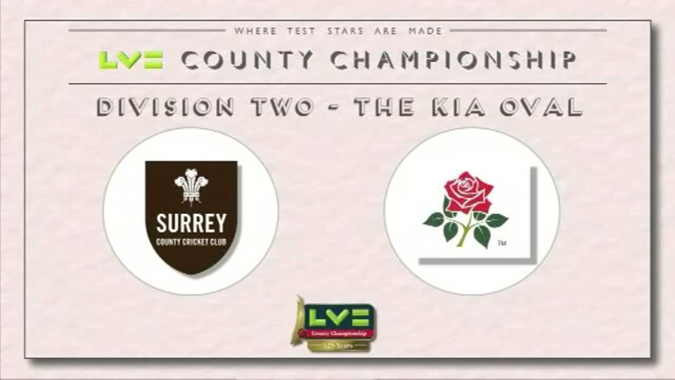 02 June 15: Surrey v Lancs - Day 3