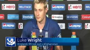 Wright powers England to win
