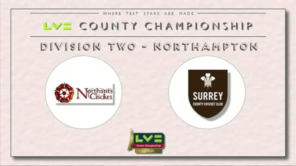 Northamptonshire v Surrey - Day 3
