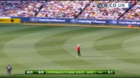 1st ODI - MCG - Australia innings