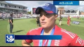 Brunt hails Ashes win