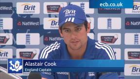 Cook leads from the front