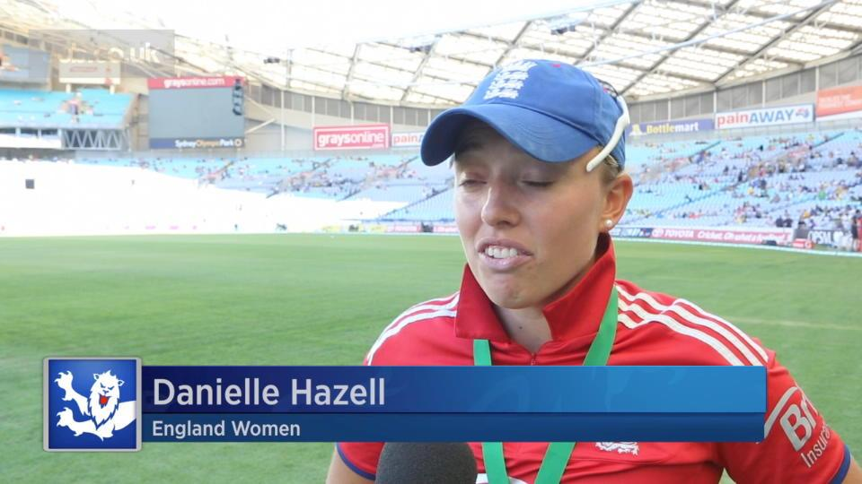Hazell reflects on Ashes triumph