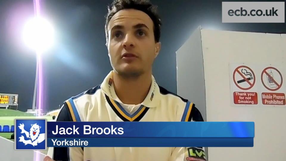 Brooks confident about title defence