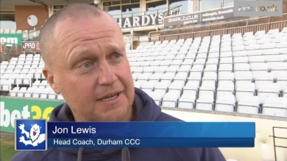 Lewis pleased with aspects of opening day