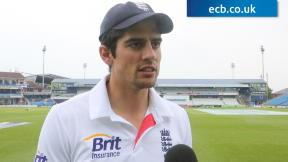 Cook thrilled with series win