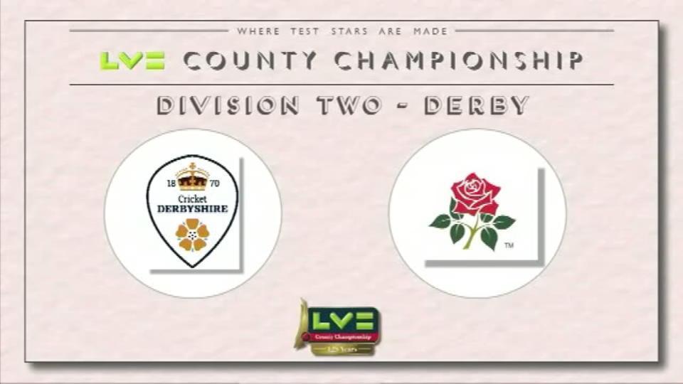 Derbyshire v Lancashire - Day 2