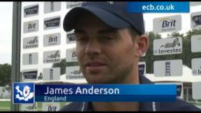 James Anderson exclusive