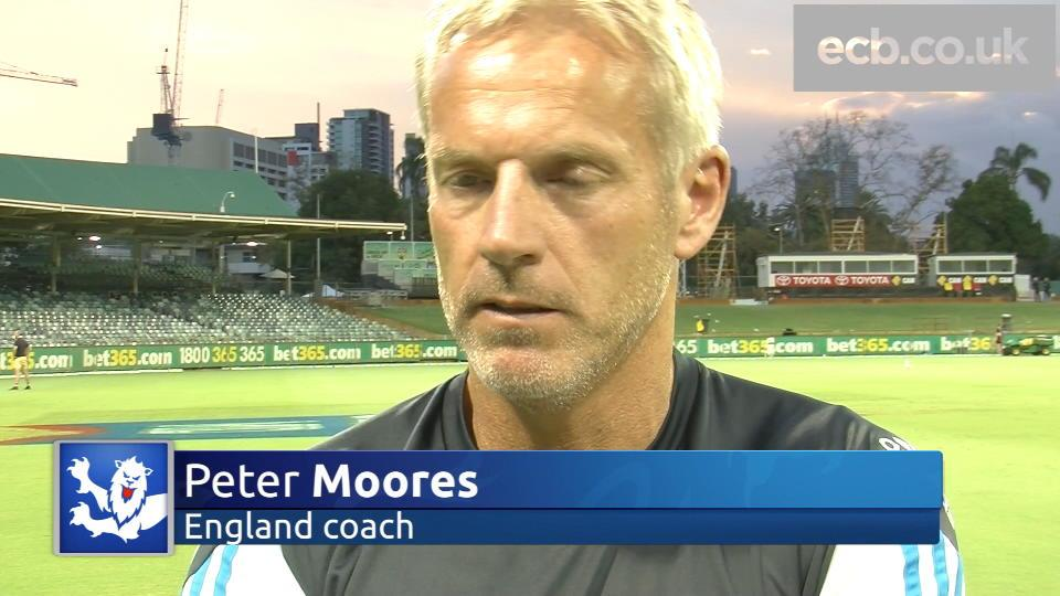 Peter Moores on Tri-Series, progress & selection