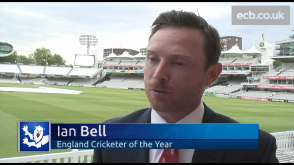 Bell wins England Cricketer of the Year