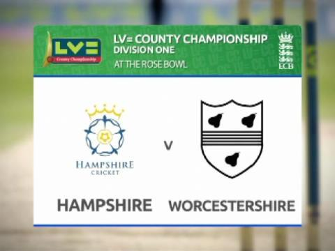 Hampshire v Worcestershire - Day 3
