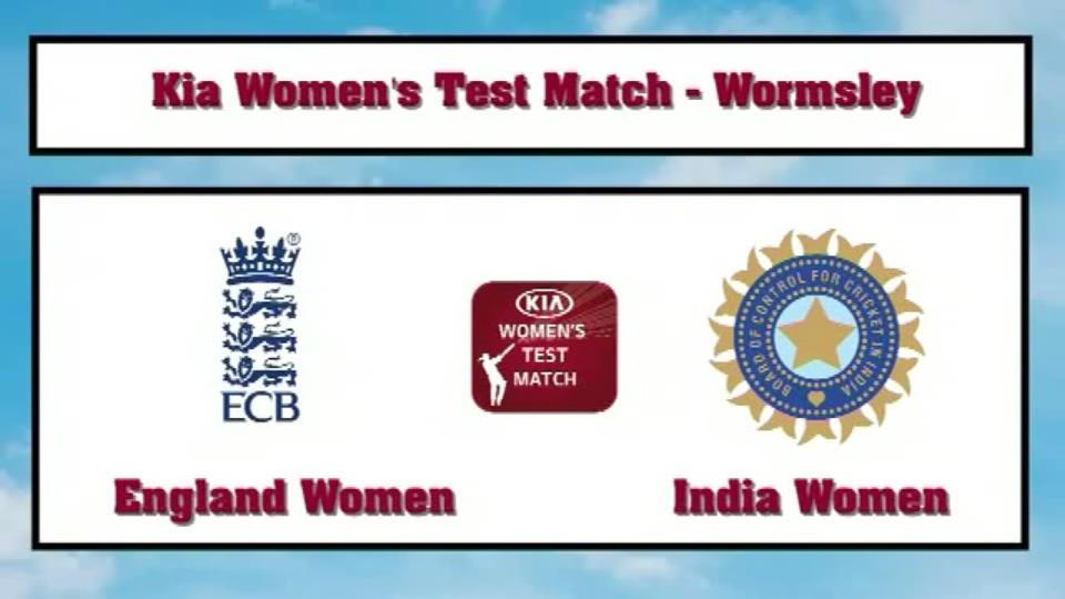 Highlights - England Women v India Women day 1