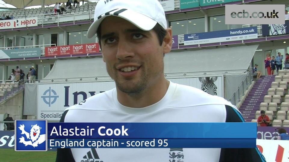 Cook hails a 'great day' for England