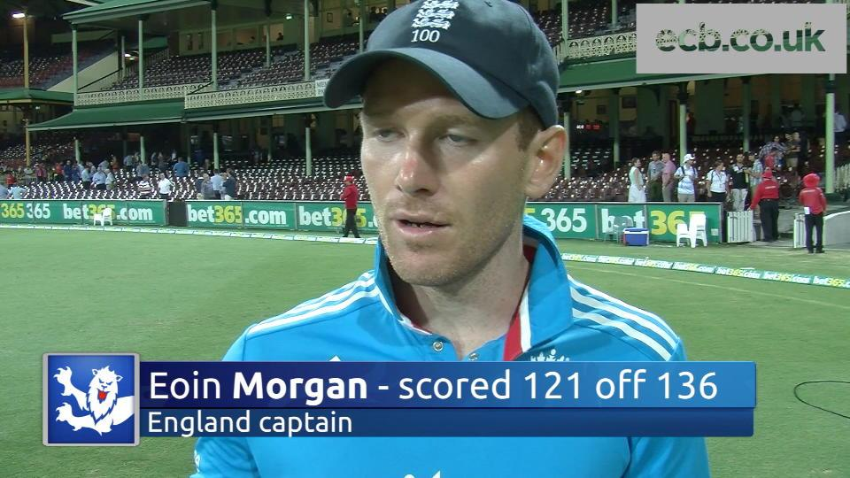 Eoin Morgan 'disappointed' with England defeat