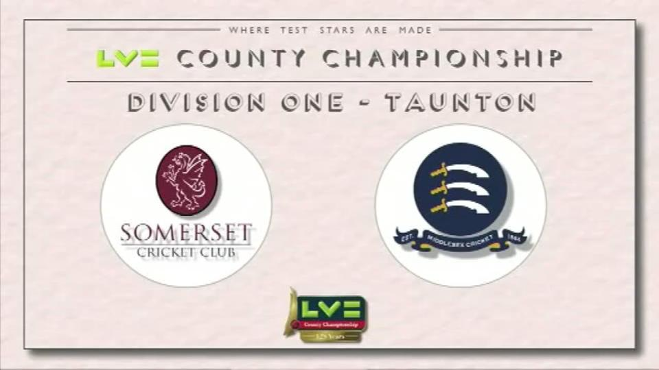 Somerset v Middlesex - Day 1